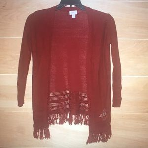 Old Navy Women's Red Cardigan
